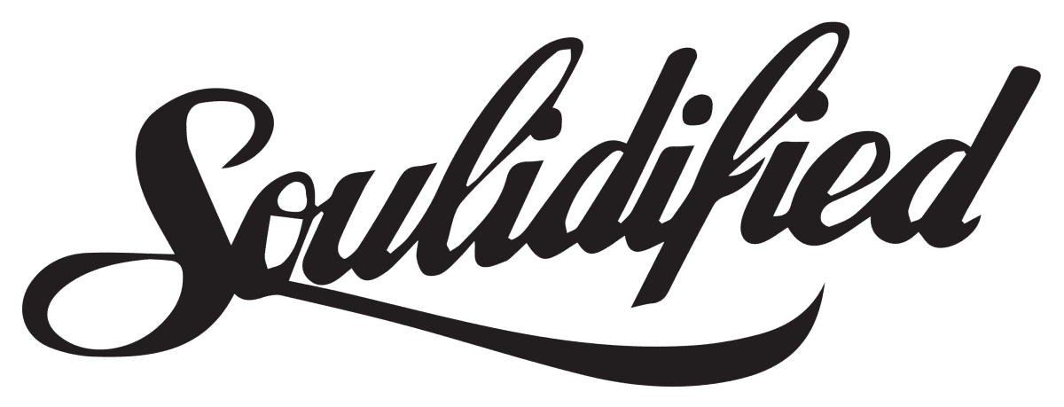 Soulidified Text Logo